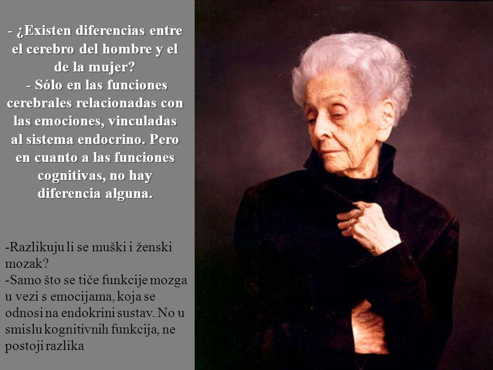 - ¿Existen diferencias entre el cerebro del hombre y el de la mujer
