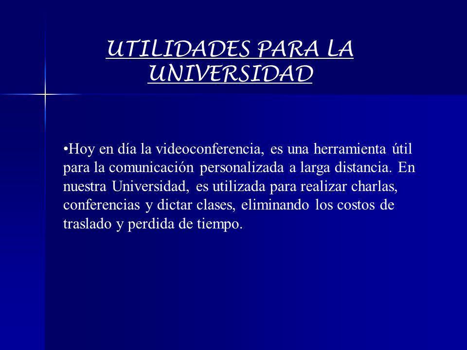 UTILIDADES PARA LA UNIVERSIDAD