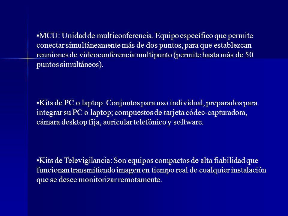 MCU: Unidad de multiconferencia