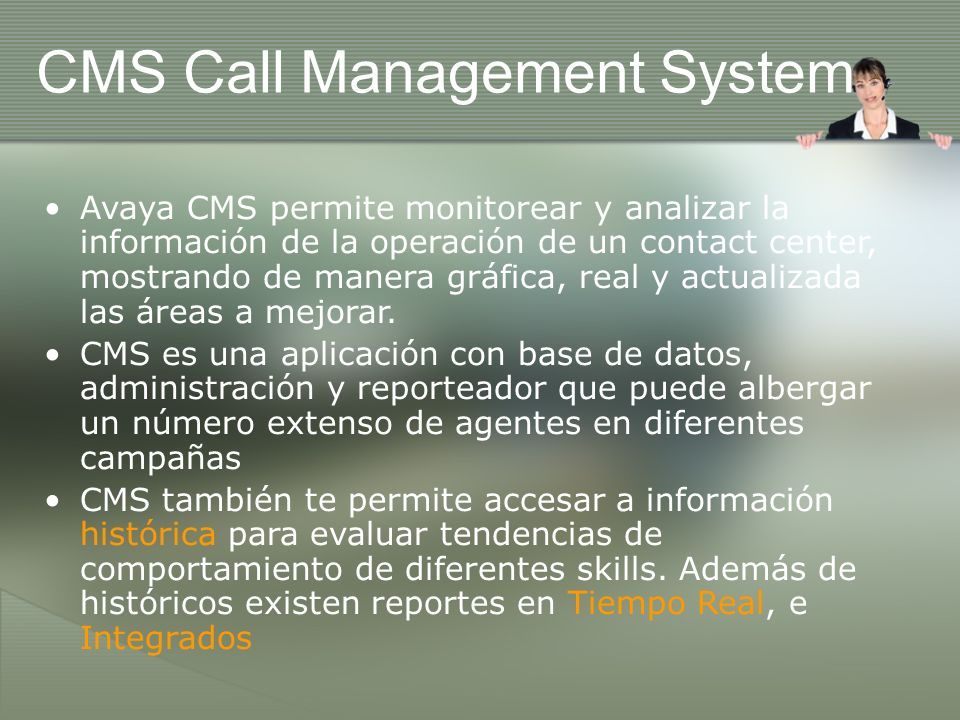 CMS Call Management System