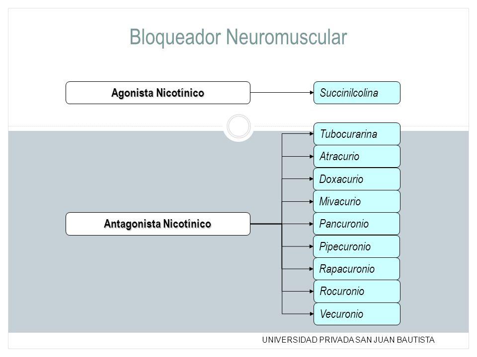 Bloqueador Neuromuscular