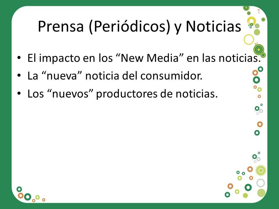 Prensa (Periódicos) y Noticias