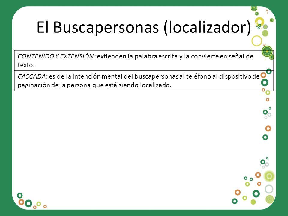 El Buscapersonas (localizador)