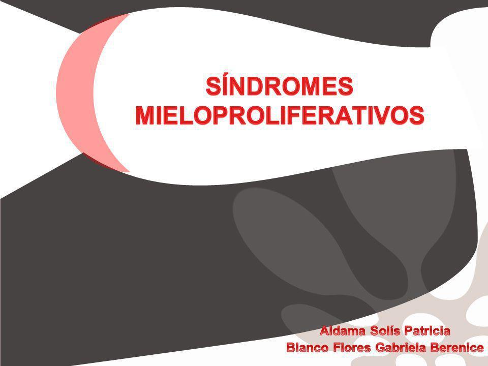 Síndromes mieloproliferativos