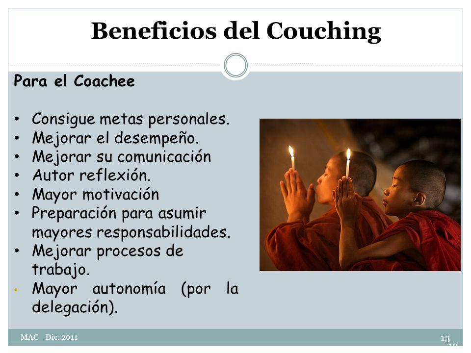 Beneficios del Couching
