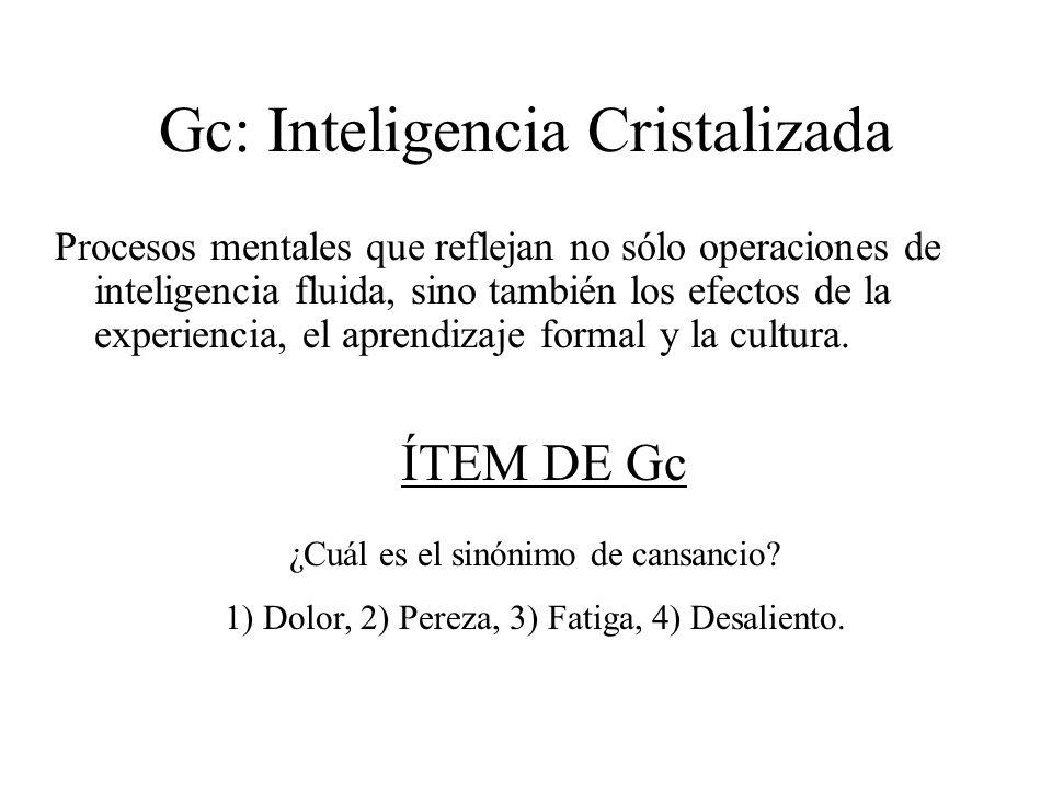 Gc: Inteligencia Cristalizada
