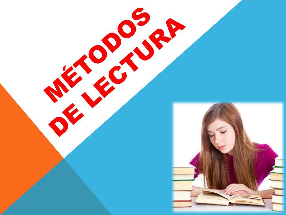 Métodos de lectura