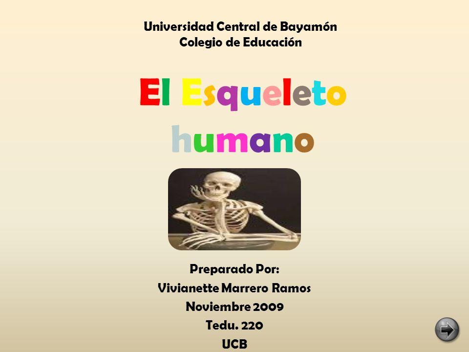 Preparado Por: Vivianette Marrero Ramos Noviembre 2009 Tedu. 220 UCB