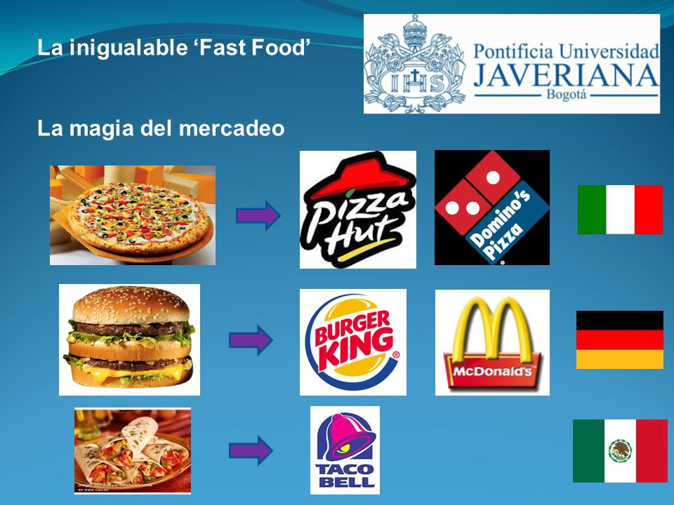 La inigualable 'Fast Food'