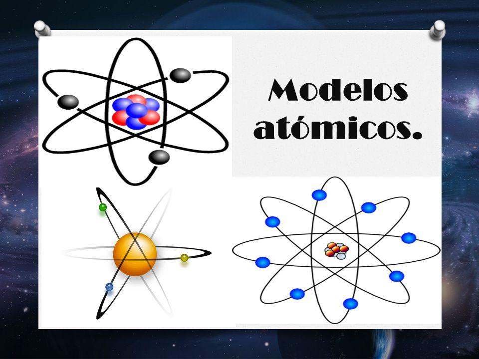 Modelos atómicos.