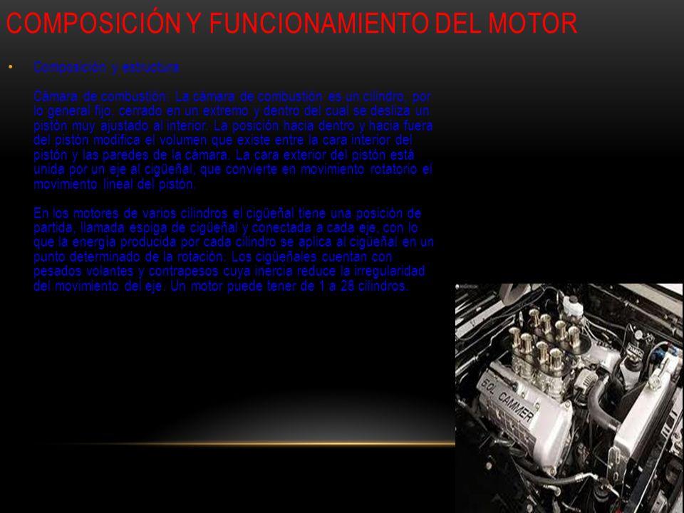 Composición y funcionamiento del motor