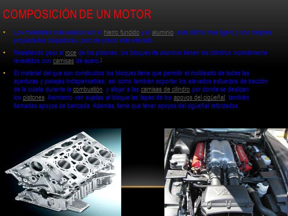 Composición de un motor