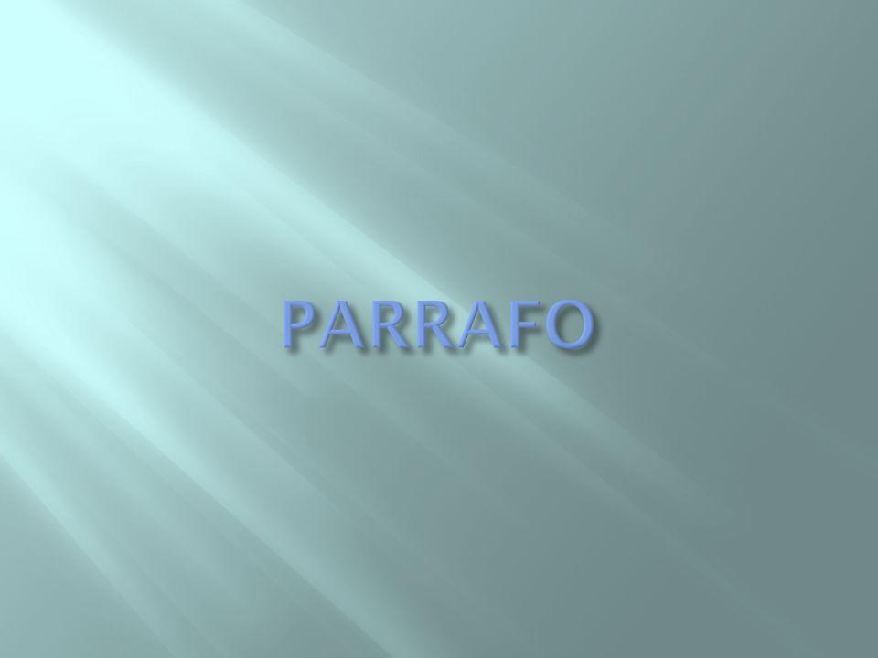 PARRAFO