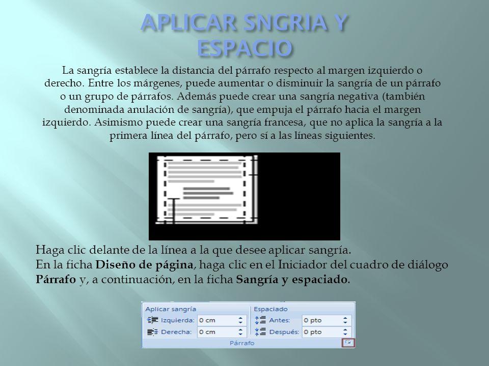 APLICAR SNGRIA Y ESPACIO