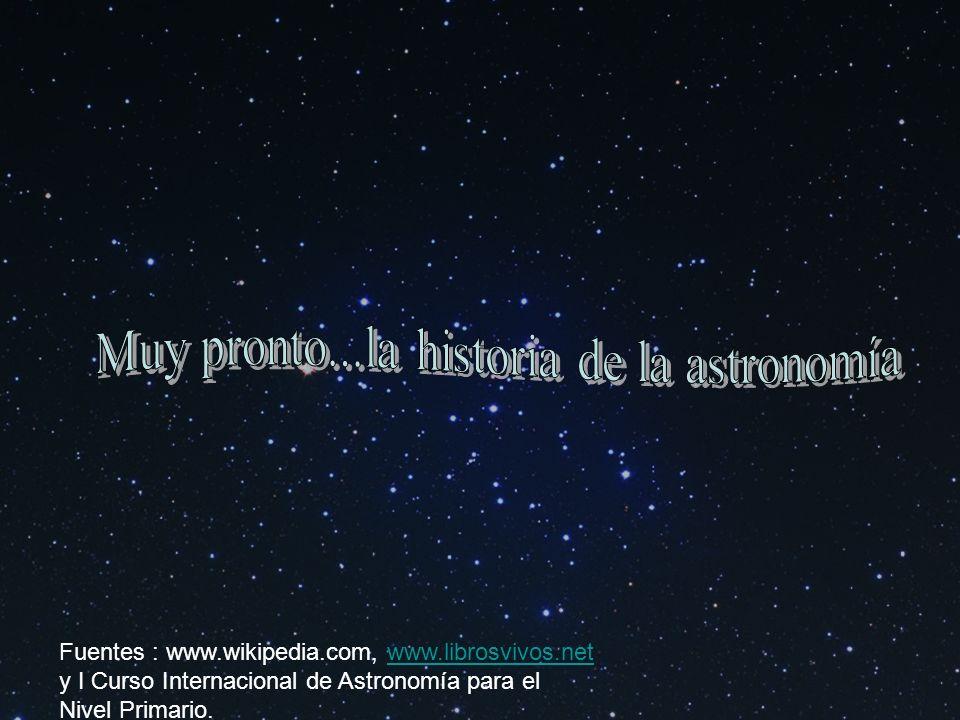 Muy pronto...la historia de la astronomía