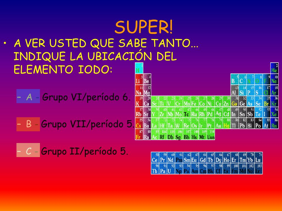 Tabla peridica de los elementos ppt descargar 35 super urtaz Images