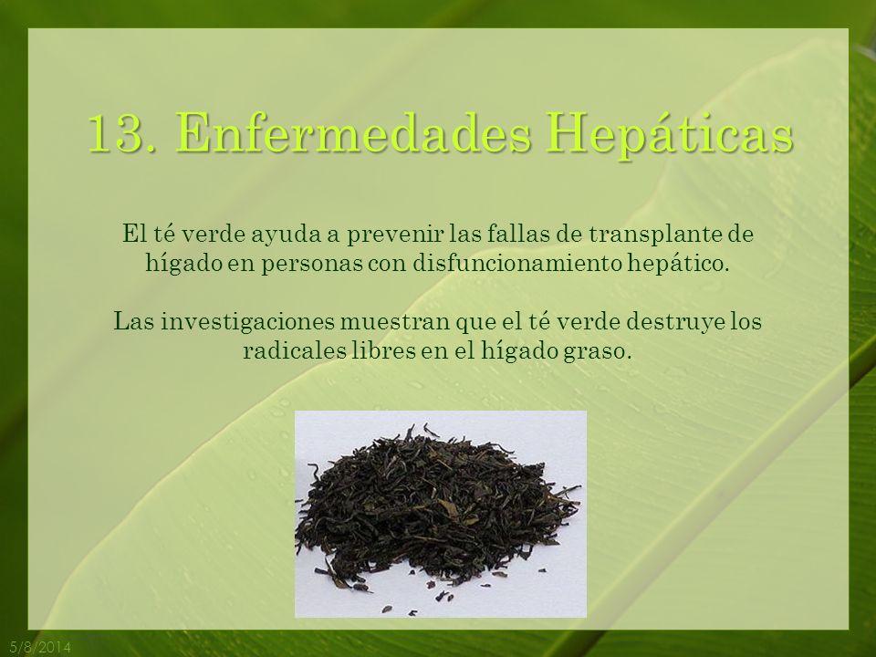 13. Enfermedades Hepáticas
