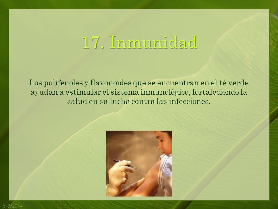 17. Inmunidad