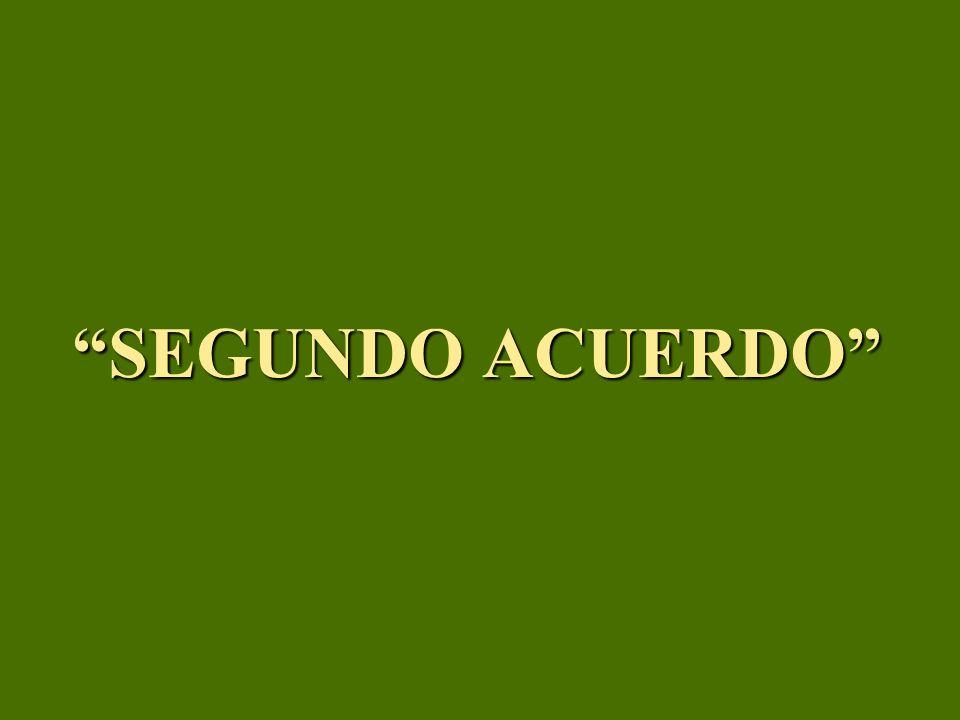 SEGUNDO ACUERDO