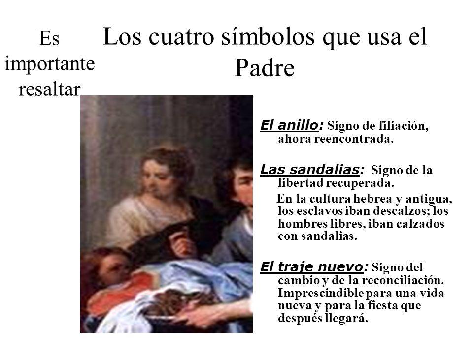 Los cuatro símbolos que usa el Padre