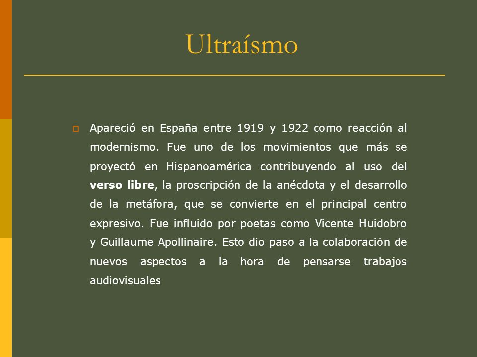 Ultraísmo