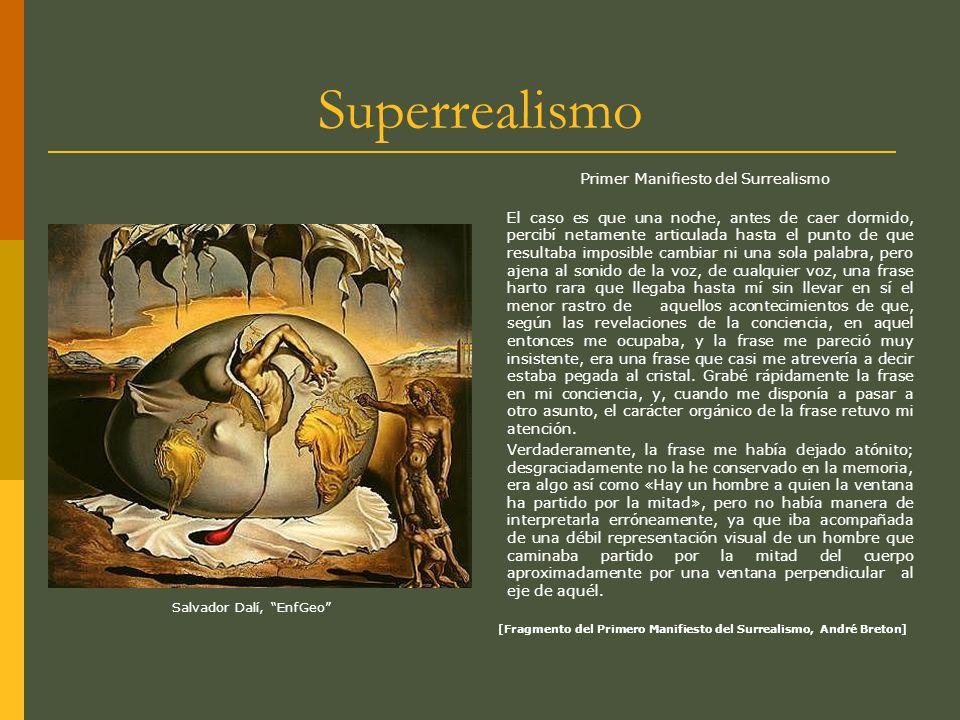 Primer Manifiesto del Surrealismo