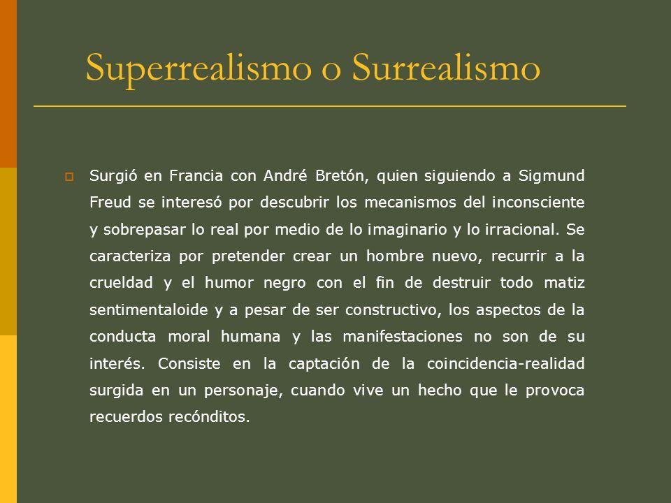 Superrealismo o Surrealismo