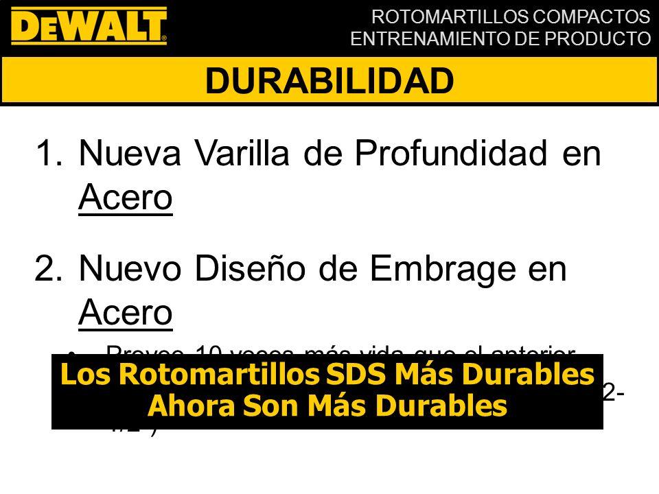 Los Rotomartillos SDS Más Durables
