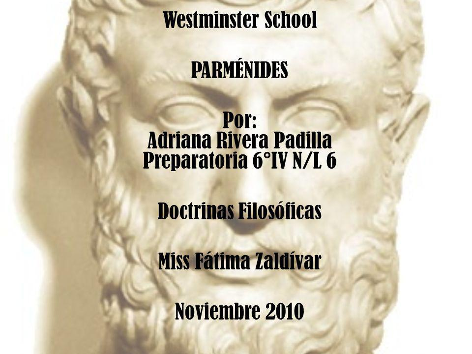 Por: Adriana Rivera Padilla Preparatoria 6°IV N/L 6