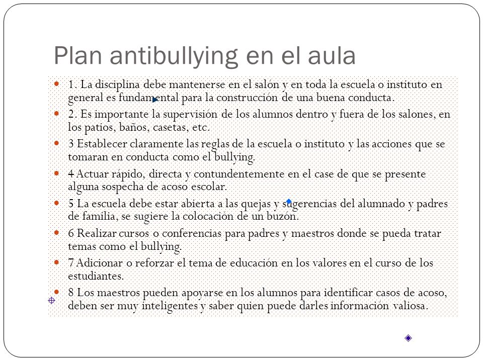Plan antibullying en el aula