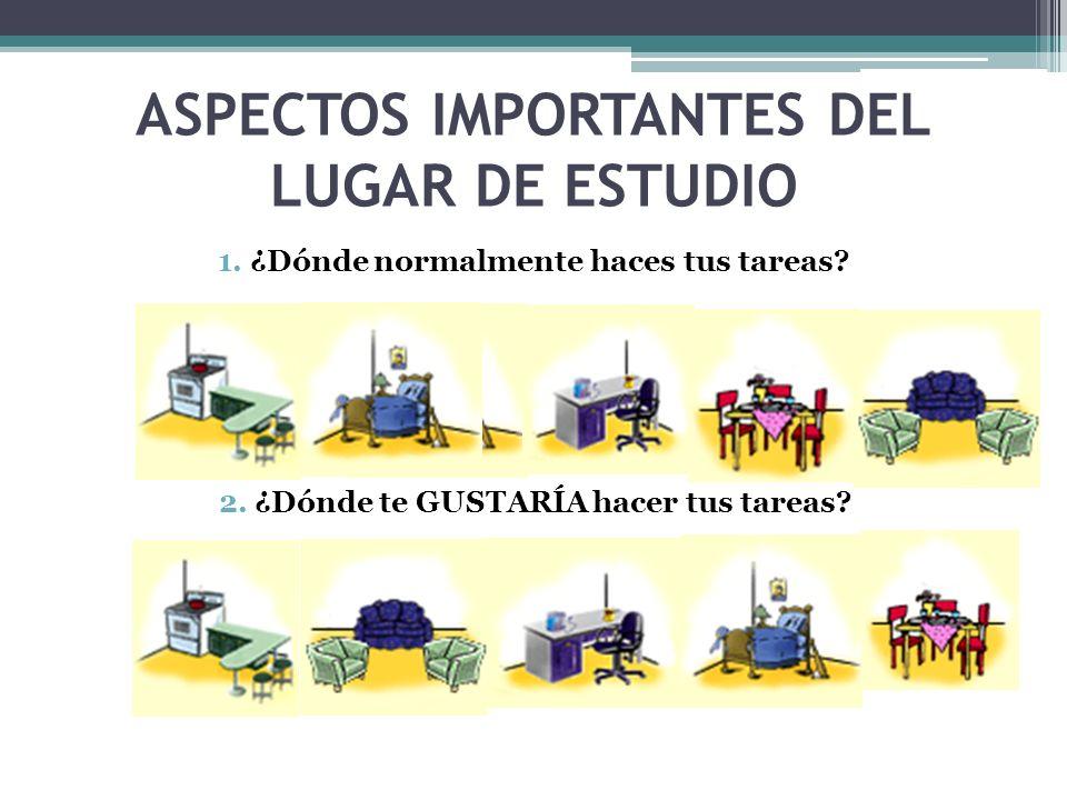 ASPECTOS IMPORTANTES DEL LUGAR DE ESTUDIO