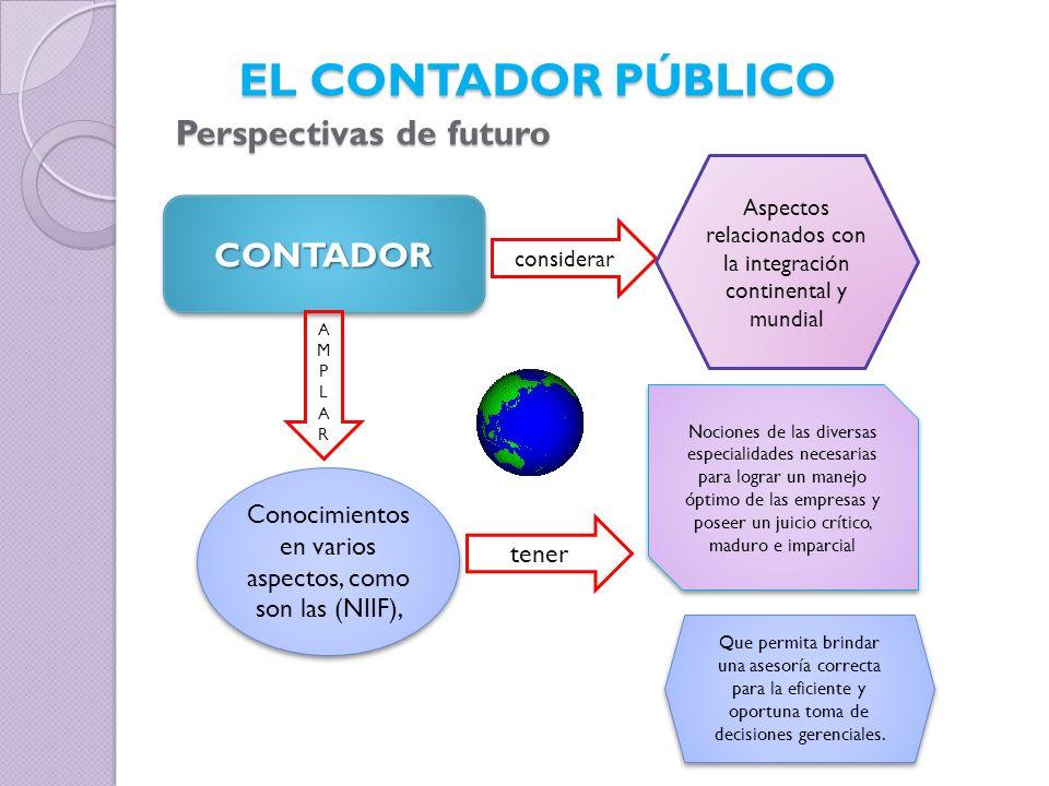 EL CONTADOR PÚBLICO Perspectivas de futuro