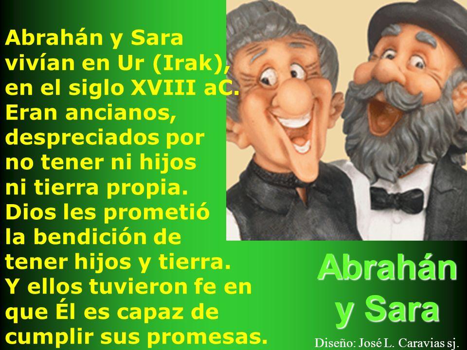 Abrahán y Sara Diseño: José L. Caravias sj.