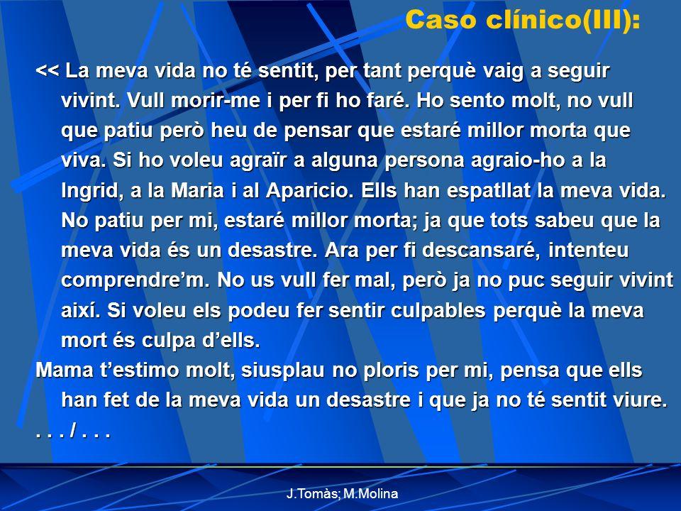 Caso clínico(III):