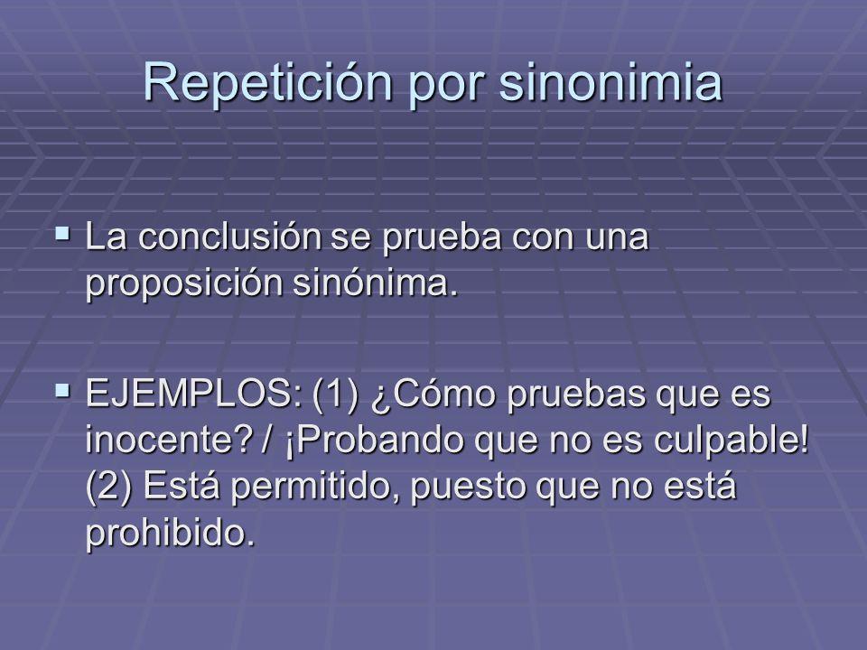 Repetición por sinonimia