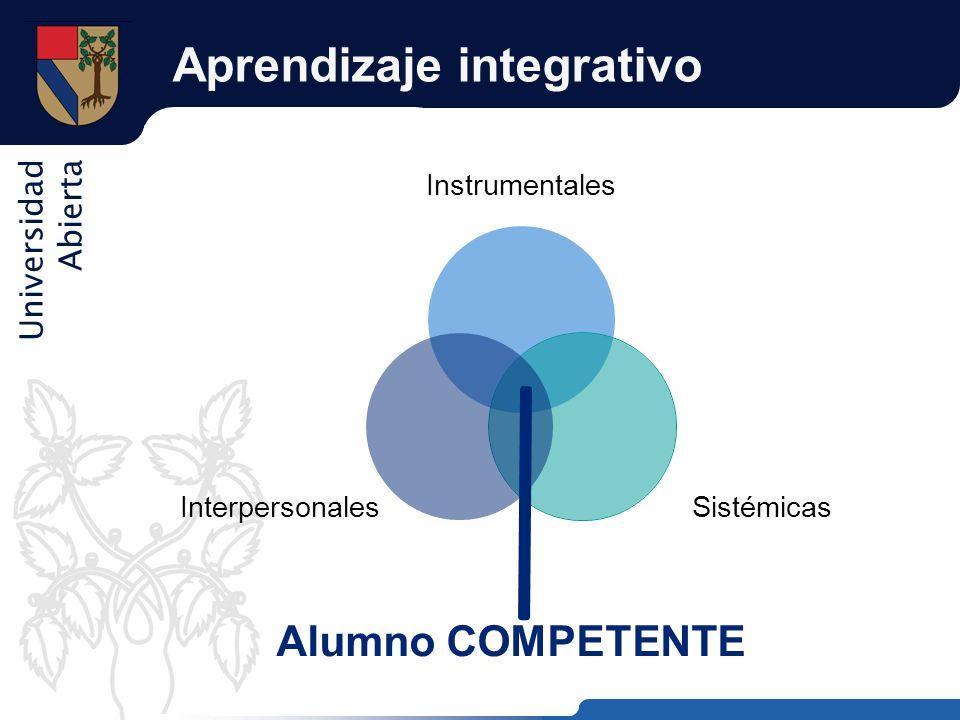 Aprendizaje integrativo