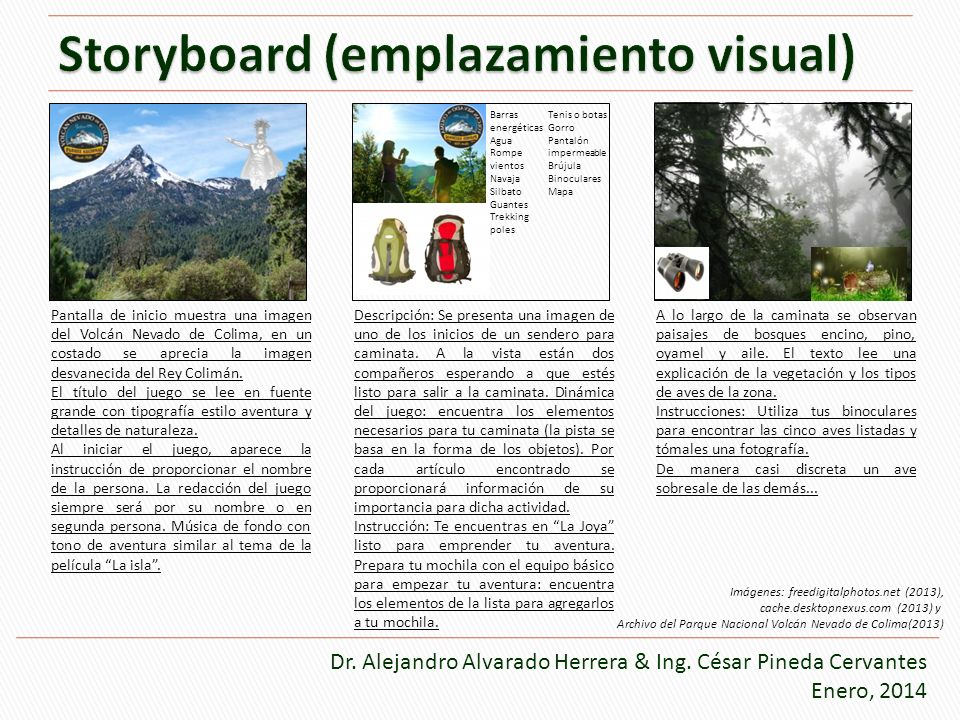Storyboard (emplazamiento visual)
