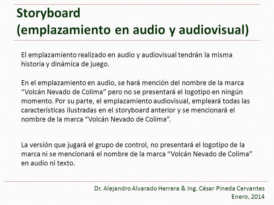 Storyboard (emplazamiento en audio y audiovisual)