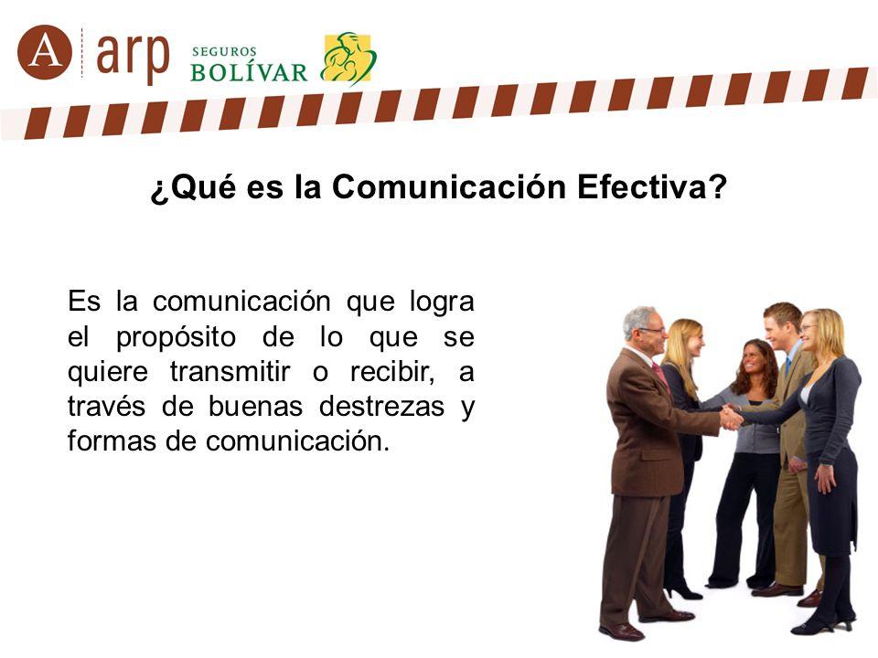¿Qué es la Comunicación Efectiva