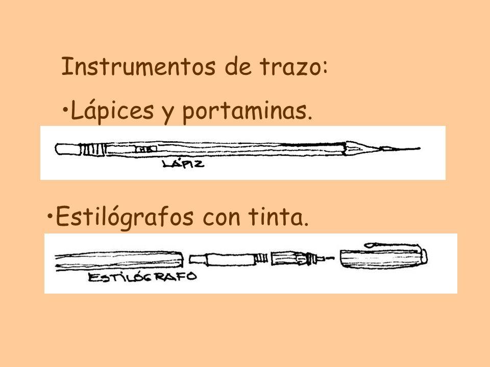 Instrumentos de trazo: