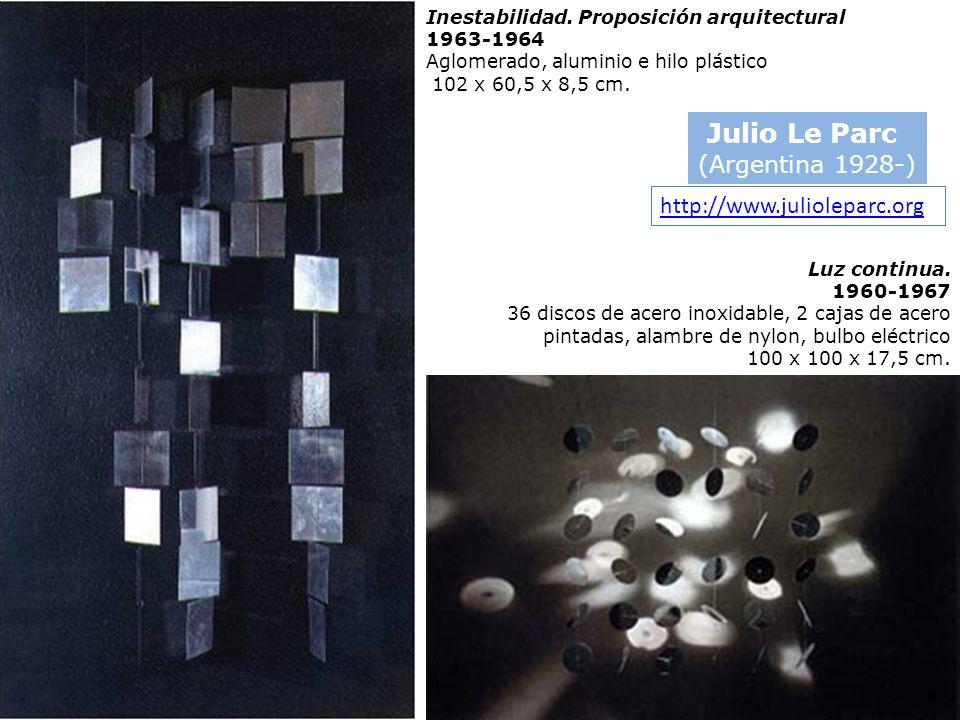 Julio Le Parc (Argentina 1928-) http://www.julioleparc.org