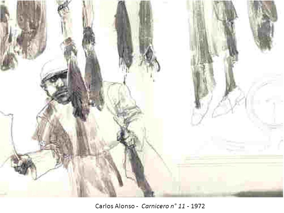 Carlos Alonso - Carnicero n° 11 - 1972