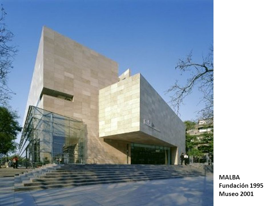 MALBA Fundación 1995 Museo 2001