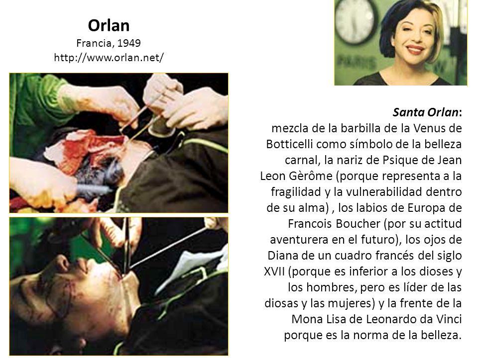 Orlan Francia, 1949. http://www.orlan.net/ Santa Orlan: