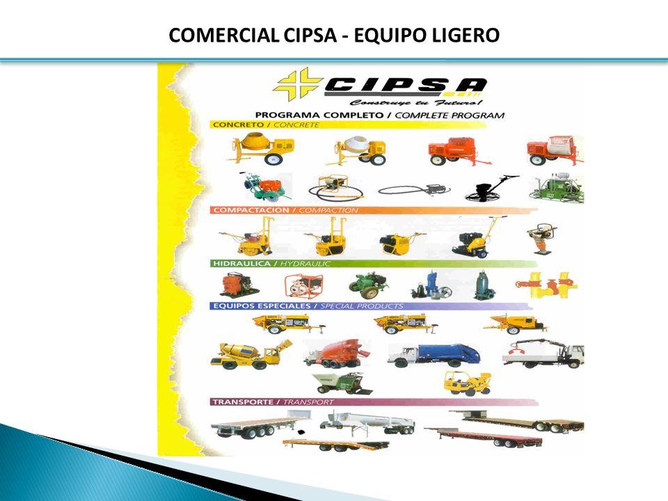 COMERCIAL CIPSA - EQUIPO LIGERO