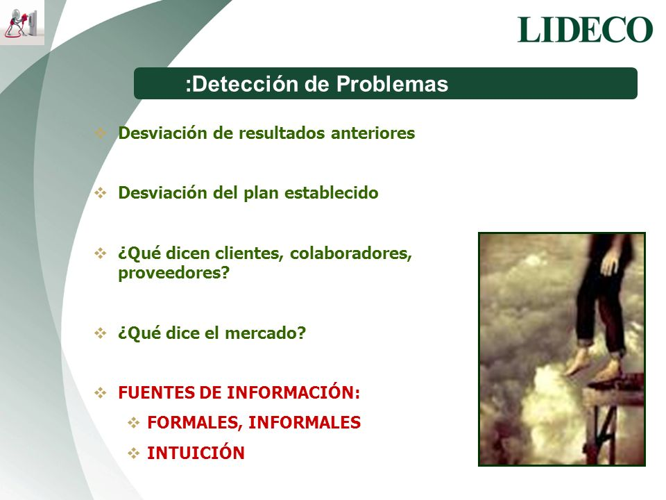 :Detección de Problemas