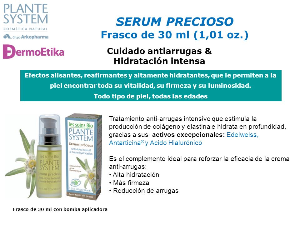SERUM PRECIOSO Frasco de 30 ml (1,01 oz.)