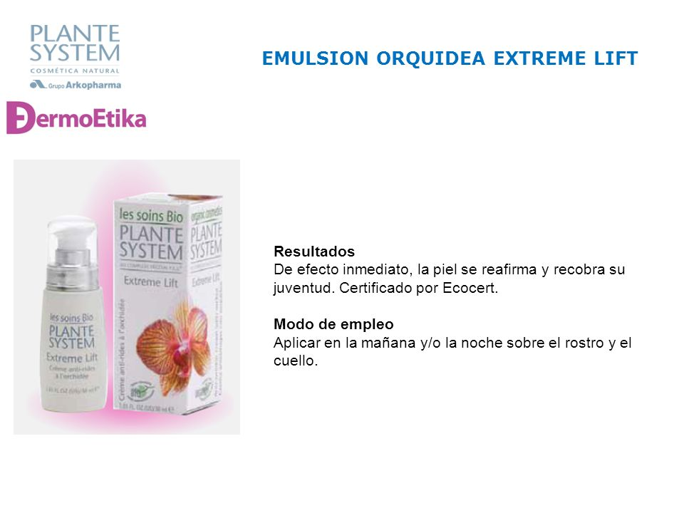 EMULSION ORQUIDEA EXTREME LIFT