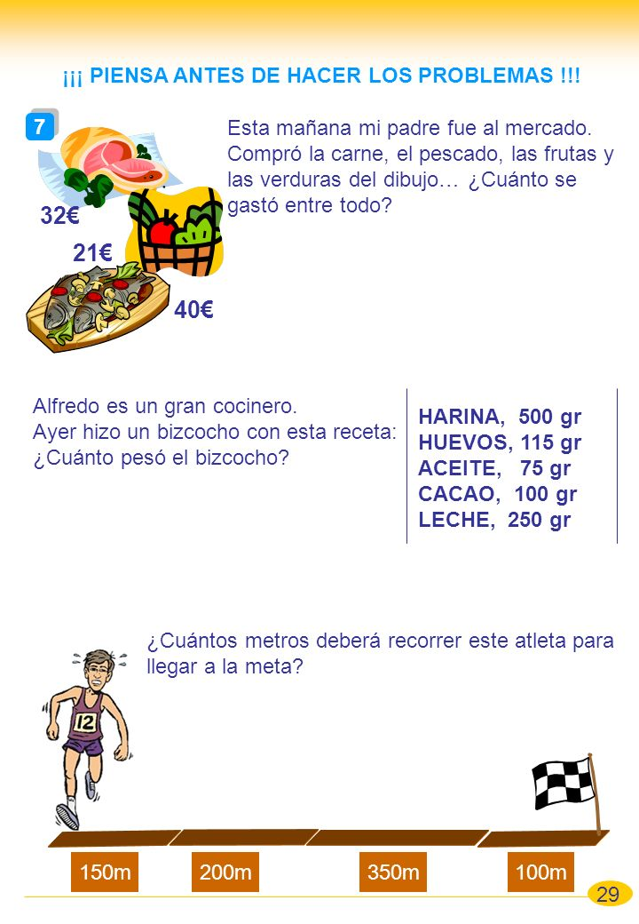 ¡¡¡ PIENSA ANTES DE HACER LOS PROBLEMAS !!!