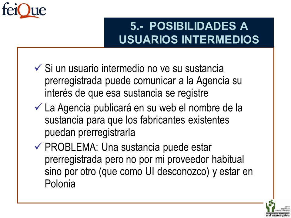 5.- POSIBILIDADES A USUARIOS INTERMEDIOS